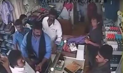 admk councilor shop owner