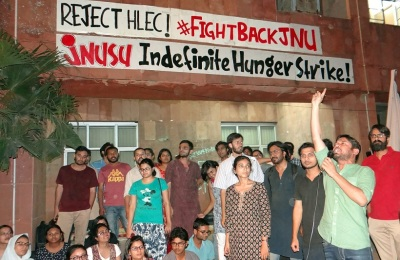 JNU hunger strikes