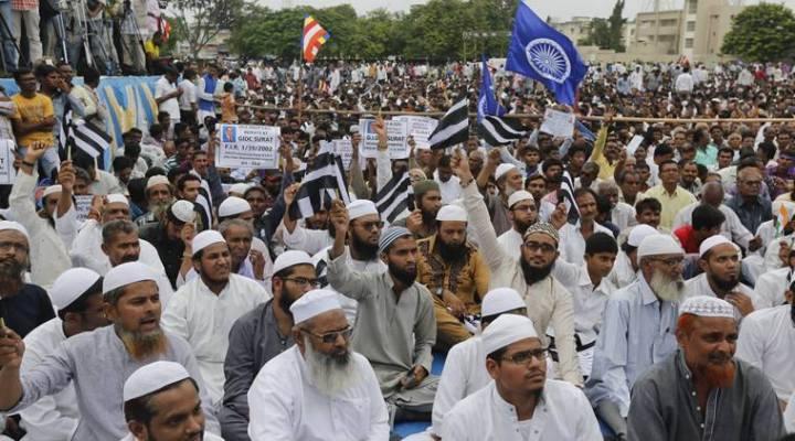 muslims in una protest