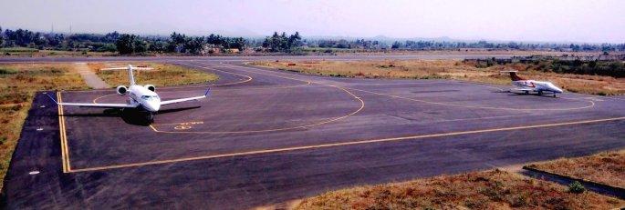 salem airport view